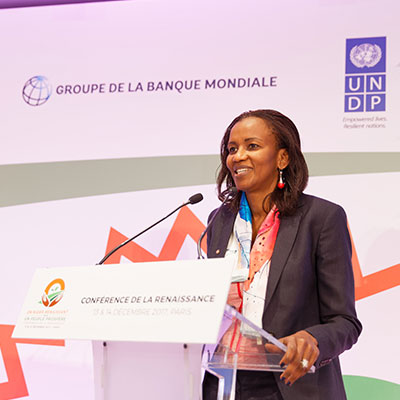 Soukeina Kane, Director of Operations of the World Bank for Mali, Guinea, Niger and Chad